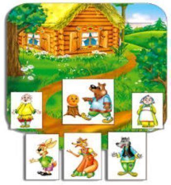 Развивающая игра КолобокНастольные игры<br>Игра-кукольный театр. Собирается декорация, и в окошки вставляются персонажи.Яркая декорация, выполненная из плотного картона, водружается на стол и стоит самостоятельно, изображая избу бабы и деда, дорогу в лесу и прочее. В декорации есть окошки, под ним...<br><br>Год: 2016<br>Высота: 365<br>Ширина: 300<br>Толщина: 6