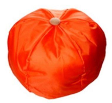 Шапка карнавальная АпельсинКарнавальные костюмы, маски, парики<br>Шапка на резинке.Размер универсальный.Материал: текстиль.<br><br>Год: 2015
