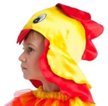 Шапка карнавальная ПетушокКарнавальные костюмы, маски, парики<br>Шапка на резинке.Размер универсальный.Материал: текстиль.<br><br>Год: 2015