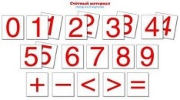 Счетный материал Цифры. 20 карточекРазвитие дошкольника<br>Набор из 20 карточек Цифры.Счетный материал поможет подготовить ребенка к школе.Материал: картон.<br><br>Год: 2018<br>ISBN: 978-5-9949-1629-2<br>Высота: 55<br>Ширина: 50<br>Толщина: 5