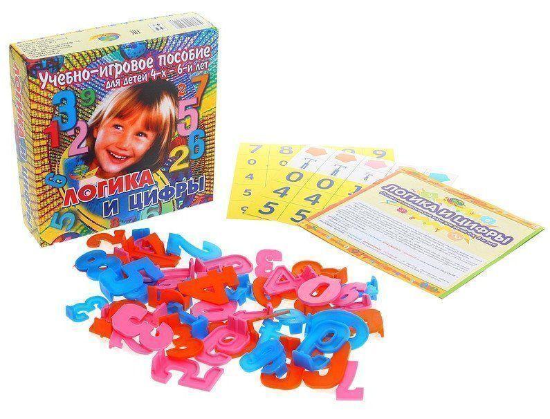 Логика и цифры. Учебно-игровое пособие для детей от 4-х летЗанятия с детьми дошкольного возраста<br>Логика и цифры - это учебно-игровое пособие для малышей от 4-х лет. Оно способствует пониманию ребенка, что цифра является составляющей любого числа.Познавательная игра способствует развитию у деток умения осуществлять логические действия, выявлять отно...<br><br>Год: 2017<br>Высота: 170<br>Ширина: 170<br>Толщина: 45