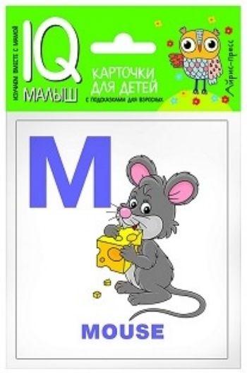 Английский алфавит. Часть 2. Набор карточекЗанятия с детьми дошкольного возраста<br>Набор Алфавит. Часть 2 знакомит ребенка со второй частью английского алфавита (14 букв - от M до Z), способствует развитию грамотного произношения, развивает навыки словообразования.В набор входят 14 карточек с цветными картинками, карточка Словарик, ...<br><br>Год: 2017<br>ISBN: 978-5-8112-6608-1<br>Высота: 90<br>Ширина: 80<br>Толщина: 5