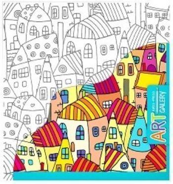 Домики. Основа для творчества малая. Арт-галереяРисование<br>Раскраска Домики предназначена для детей от 3-х лет. Она способствует открытию творческих способностей вашего ребёнка.Основой для раскрашивания является бумажный холст - фактурная бумага, наклеенная на плотный картон, что создает удобство в работе.Возмо...<br><br>Год: 2017<br>Высота: 205<br>Ширина: 190<br>Толщина: 2