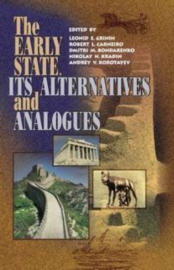 The Early State, It`s Alternatives and AnaloguesВУЗ<br>В работах, вошедших в данный сборник, рассматриваются некоторые важнейшие вопросы формирования и развития раннего государства. Основными идеями, пронизывающими большинство статей книги являются разнообразие социополитических форм, неоднолинейность социаль...<br><br>Авторы: др., Гринин Л. Е., Бондаренко Д.М.<br>Год: 2004<br>Серия: Для студентов и преподавателей<br>ISBN: 5-7057-0547-6<br>Высота: 219<br>Ширина: 145<br>Толщина: 30