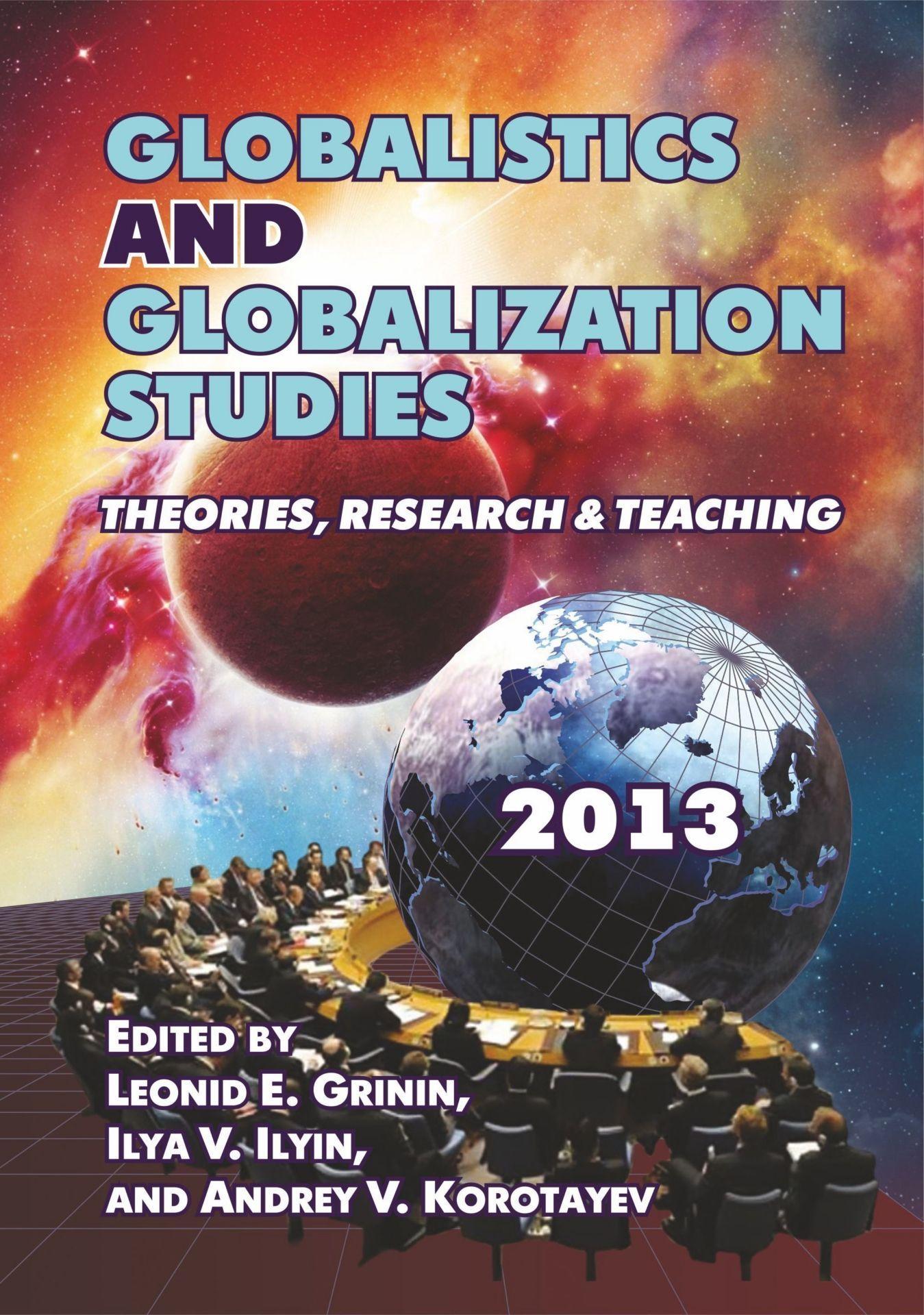 Globalistics and globalization studies: Theories, Research, and TeachingВУЗ<br>Настоящий выпуск является вторым в серии ежегодников под общим названием Глобалистика и глобализационные исследования. Глобалистику можно рассматривать как системные и более- менее интегрированное ядро глобализационных исследований. Сегодня глобалистика...<br><br>Год: 2013<br>Серия: Для студентов и преподавателей<br>ISBN: 978-5-7057-3619-5<br>Высота: 235<br>Ширина: 163<br>Толщина: 17<br>Переплёт: мягкая, склейка