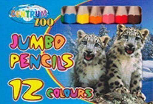 Набор цветных карандашей JUMBO ZOO. 12 цветовФломастеры, цветные карандаши, краски, гуашь<br>Набор цветных карандашей 12 шт.(12 цветов) в упаковке с европодвесом.<br><br>Год: 2018<br>Высота: 90<br>Ширина: 125<br>Толщина: 10