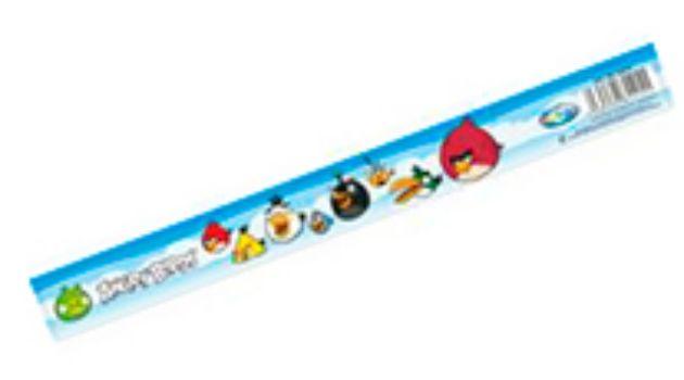 Линейка пластиковая Angry BirdsЛинейки<br>Линейка 20 см. Материал: ПВХ. Выбор цветов и моделей не предоставляется.<br><br>Год: 2014<br>Высота: 205<br>Ширина: 35<br>Толщина: 2