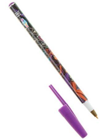 Ручка шариковая Monster HighРучки<br>Ручка шариковая, 0,7 мм, стержень синего цвета.<br><br>Год: 2014
