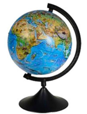 Глобус Земли Классик зоогеографический (детский), с подсветкой, 210 ммГлобусы<br>Глобус Земли с зоогеографической картой мира станет незаменимым атрибутом обучения школьника.Глобус на удобной подставке, вращается вокруг собственной оси, с подсветкой. Изготовлен из высококачественного пластика. Яркие цвета и точная картография.Диаметр ...<br><br>Год: 2018<br>Высота: 220<br>Ширина: 220