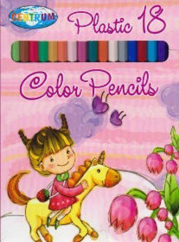 Карандаши цветные Единорог, 18 цветовФломастеры, цветные карандаши, краски, гуашь<br>Карандаши цветные длинные с заточенным грифелем, 18 цветов. Яркие насыщенные цвета, штрихи мягко и ровно ложатся на бумагу, карандаши легко затачиваются и имеют удобную шестигранную форму.<br><br>Год: 2014<br>Высота: 180<br>Ширина: 130<br>Толщина: 10