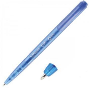 Ручка шариковая автоматическая, синяяРучки<br>Ручка шариковая автоматическая, синяя, средняя толщина линии - 1 мм, треугольный корпус.<br><br>Год: 2016<br>Высота: 150<br>Ширина: 7<br>Толщина: 7
