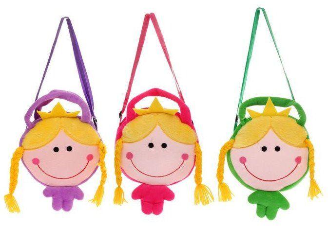 Сумка мягкая Принцесса, миксРюкзаки, ранцы, сумки<br>Мягкая сумочка Принцесса - аксессуар станет любимым спутником ребёнка в течение всего дня: в детском саду, на прогулке или на пикнике за городом. В ней ребятишки будут хранить свои самые ценные вещицы: карандаши, фломастеры или любимые игрушки.Сумка зак...<br><br>Год: 2016<br>Высота: 290<br>Ширина: 180