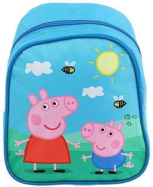 Рюкзак детский Свинка ПеппаРюкзаки, ранцы, сумки<br>Рюкзак детский Свинка Пеппа - аксессуар станет любимым спутником ребёнка в течение всего дня: в детском саду, на прогулке или на пикнике за городом. В ней ребятишки будут хранить свои самые ценные вещицы: карандаши, фломастеры или любимые игрушки.Рюкзак...<br><br>Год: 2016<br>Высота: 250<br>Ширина: 210