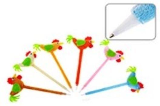 Ручка шариковая ПетушокРучки<br>Ручки представлены в ассортименте. Выбор конкретных цветов и моделей не предоставляется.Цвет чернил: синий.<br><br>Год: 2016<br>Высота: 170<br>Ширина: 50<br>Толщина: 10