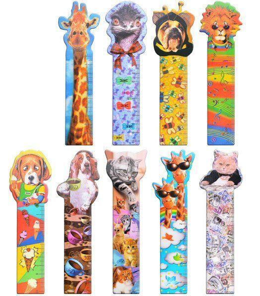 Закладка 3D Веселые животные, миксЗакладки<br>Закладка пластиковая, представлена в ассортименте. Выбор конкретных цветов и моделей не предоставляется.<br><br>Год: 2017<br>Высота: 170<br>Ширина: 50<br>Толщина: 2