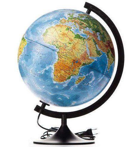 Глобус Земли Классик, политический, с подсветкой, 320 ммГлобусы<br>Глобус Земли станет незаменимым атрибутом обучения не только школьника, но и студента. Глобус - самый простой способ привить ребёнку любовь к географии. Он является отличным наглядным примером, который способен в игровой доступной и понятной форме объясни...<br><br>Год: 2017<br>Высота: 320<br>Ширина: 320<br>Толщина: 320