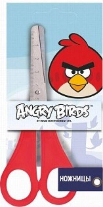 Ножницы Angry Birds, с линейкой, 13 смНожницы<br>Ножницы с закругленными концами с линейкой 5 см.<br><br>Год: 2017<br>Высота: 130<br>Ширина: 50<br>Толщина: 4