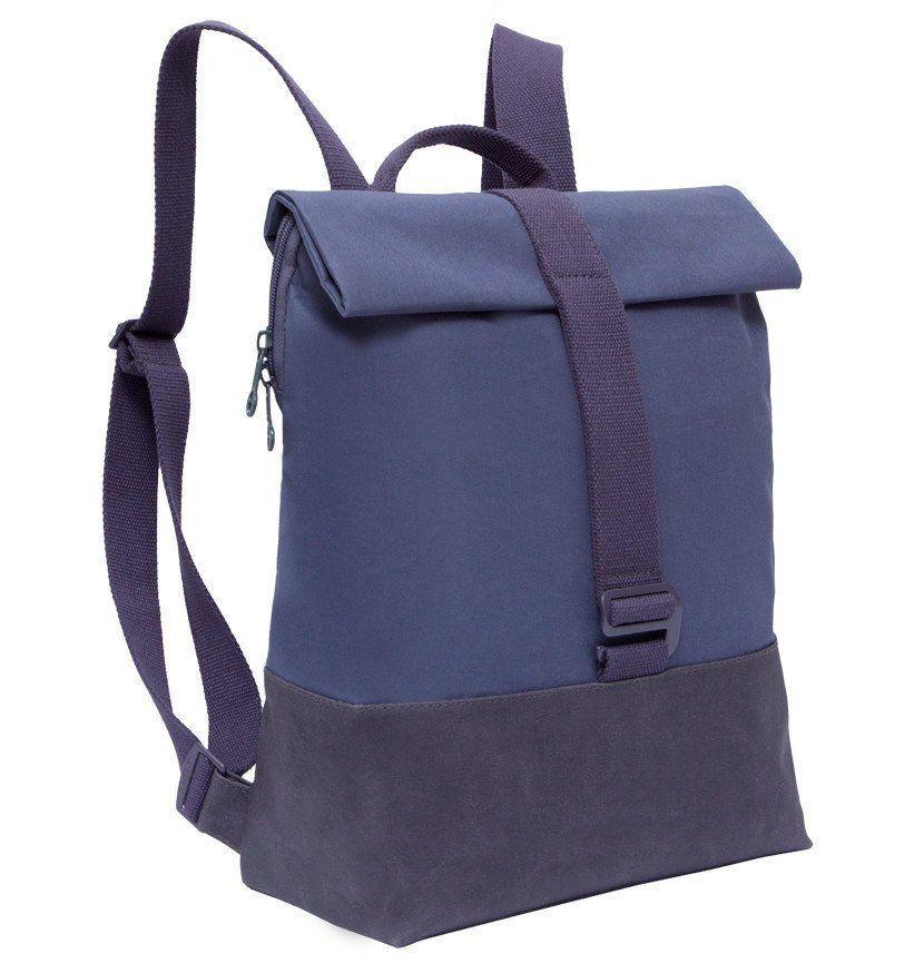 Рюкзак Grizzly, фиолетово-дымчатыйРюкзаки, ранцы, сумки<br>Рюкзак молодежный, одно отделение, клапан с закруткой на магнитных кнопках с застежкой на крючок, внутренний карман для ноутбука, внутренний карман на молнии, укрепленная спинка, дополнительная ручка-петля, лямки из стропы.Размеры: 29x36x13 см.Материал: п...<br><br>Год: 2016