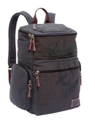 Рюкзак школьный Grizzly, серо-коричневыйРюкзаки, ранцы, сумки<br>Рюкзак молодежный, одно отделение, клапан на молнии с карманом на молнии, объемный карман на молнии на передней стенке, 2 боковых кармана, 2 объемных боковых кармана на молнии, внутренний составной пенал-органайзер, внутренний укрепленный карман для ноутб...<br><br>Год: 2016