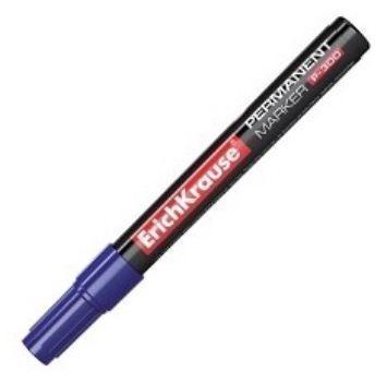 Маркер перманентный Erich Krause, синийФломастеры, цветные карандаши, краски, гуашь<br>Перманентные маркеры могут писать на различных видах поверхностей, включая стекло, керамику и металл. Перманентными, то есть постоянными маркеры называются из-за того, что надписи, сделанные ими, невозможно стереть без использования специальных раствори...<br><br>Год: 2017<br>Высота: 145<br>Ширина: 15<br>Толщина: 15