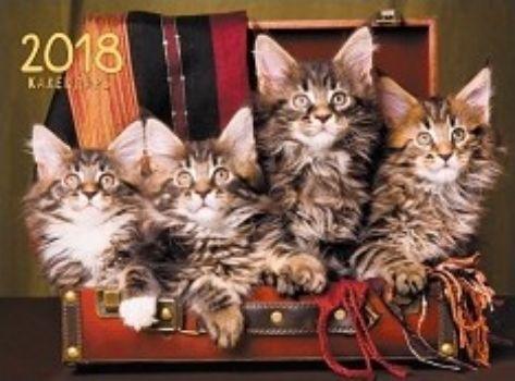 Календарь настенный одноблочный Домашние любимцы. Котята-путешественники 2018Календари квартальные<br>Вашему вниманию предлагается квартальный одноблочный календарь с курсором на 2018 год. Длина календаря в развернутом виде 58 см.<br><br>Год: 2017<br>Высота: 290<br>Ширина: 375<br>Толщина: 4