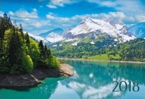 Календарь настенный одноблочный Пейзаж. Красота гор 2018Календари квартальные<br>Вашему вниманию предлагается квартальный одноблочный календарь с курсором на 2018 год. Длина календаря в развернутом виде 41,5 см.<br><br>Год: 2017<br>Высота: 210<br>Ширина: 305<br>Толщина: 5