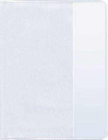 Обложка для школьного журналаОбложки<br>ПВХ, 150 мк.<br><br>Год: 2012<br>Высота: 475<br>Ширина: 305<br>Толщина: 1