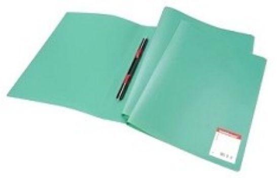 Папка-скоросшиватель с пружинным механизмом Erich Krause, зеленаяПапка-скоросшиватель<br>Используется для сшивания и хранения перфорированных документов. Надежный скоросшиватель фиксирует как отдельные листы, так и перфофайлы. Папка изготовлена из непрозрачного пластика.<br><br>Год: 2017<br>Высота: 310<br>Ширина: 230<br>Толщина: 16