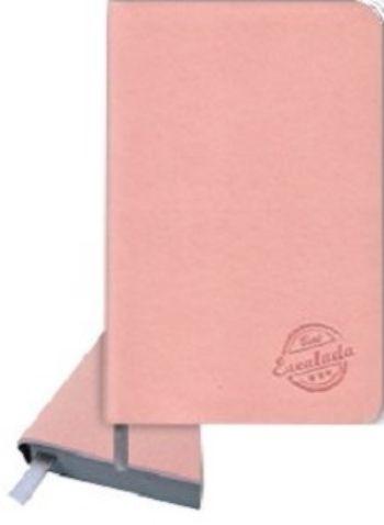 Записная книжка, розовая, А6Формат А6<br>Записная книжка, 160 стр., серый срез, обложка кожзам, ляссе.<br><br>Год: 2017<br>Высота: 142<br>Ширина: 90<br>Толщина: 10