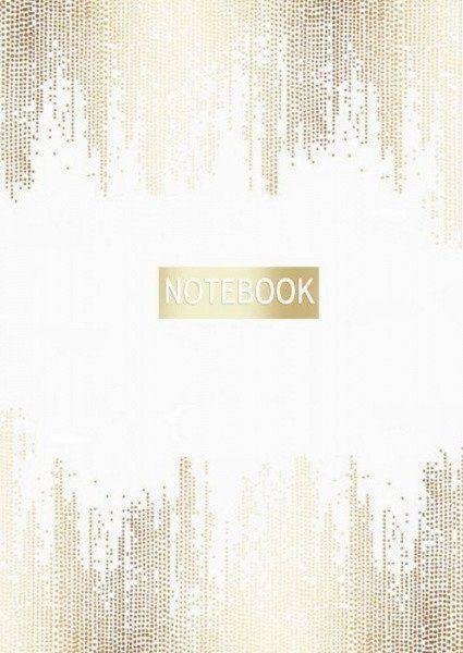 Записная книжка Золото на белом, А6Формат А6<br>Записная книжка, 192 стр., линейка, обложка твердая.<br><br>Год: 2017<br>Высота: 170<br>Ширина: 125<br>Толщина: 10