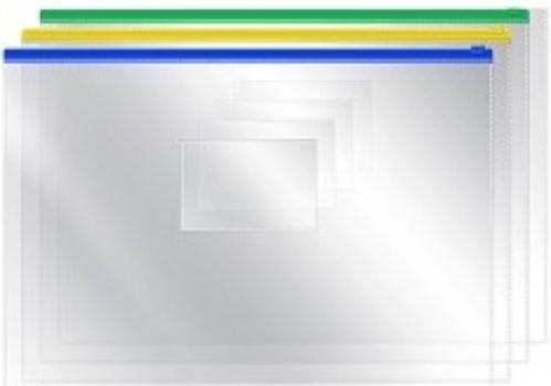 Папка на молнии, прозрачнаяПапка-конверт<br>Папка-конверт на молнии, формат А4.Плотность: 120 мкм.Расцветка в ассортименте, без возможности выбора.<br><br>Год: 2018<br>Высота: 235<br>Ширина: 325<br>Толщина: 2