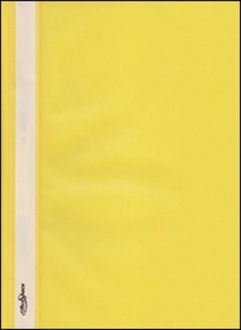 Папка-скоросшиватель Officespace\А4 желтыйПапка-скоросшиватель<br>Папка-скоросшиватель обеспечит сохранность файлов и документов и станет незаменимым атрибутом работы в офисе. Папка имеет верхний прозрачный лист, место под выдвижную полосу для пометок и снабжена скоросшивателем.Формат А4.<br><br>Год: 2012<br>Высота: 310<br>Ширина: 230<br>Толщина: 2