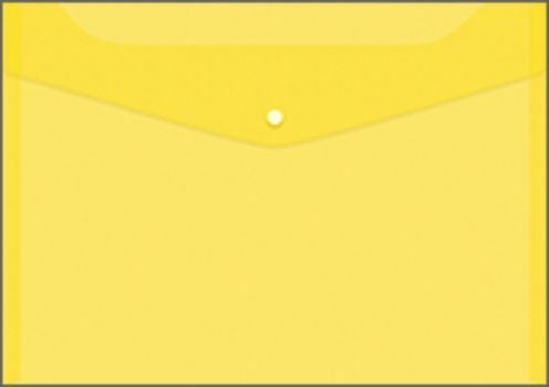 Папка-конверт на кнопке, желтаяПапка-конверт<br>Папка-конверт на кнопке - удобный и практичный офисный инструмент, предназначенный для хранения и транспортировки рабочих бумаг и документов. Папка изготовлена из полупрозрачного глянцевого пластика с диагональной текстурой, которая надолго сохраняет папк...<br><br>Год: 2017<br>Высота: 240<br>Ширина: 330<br>Толщина: 3