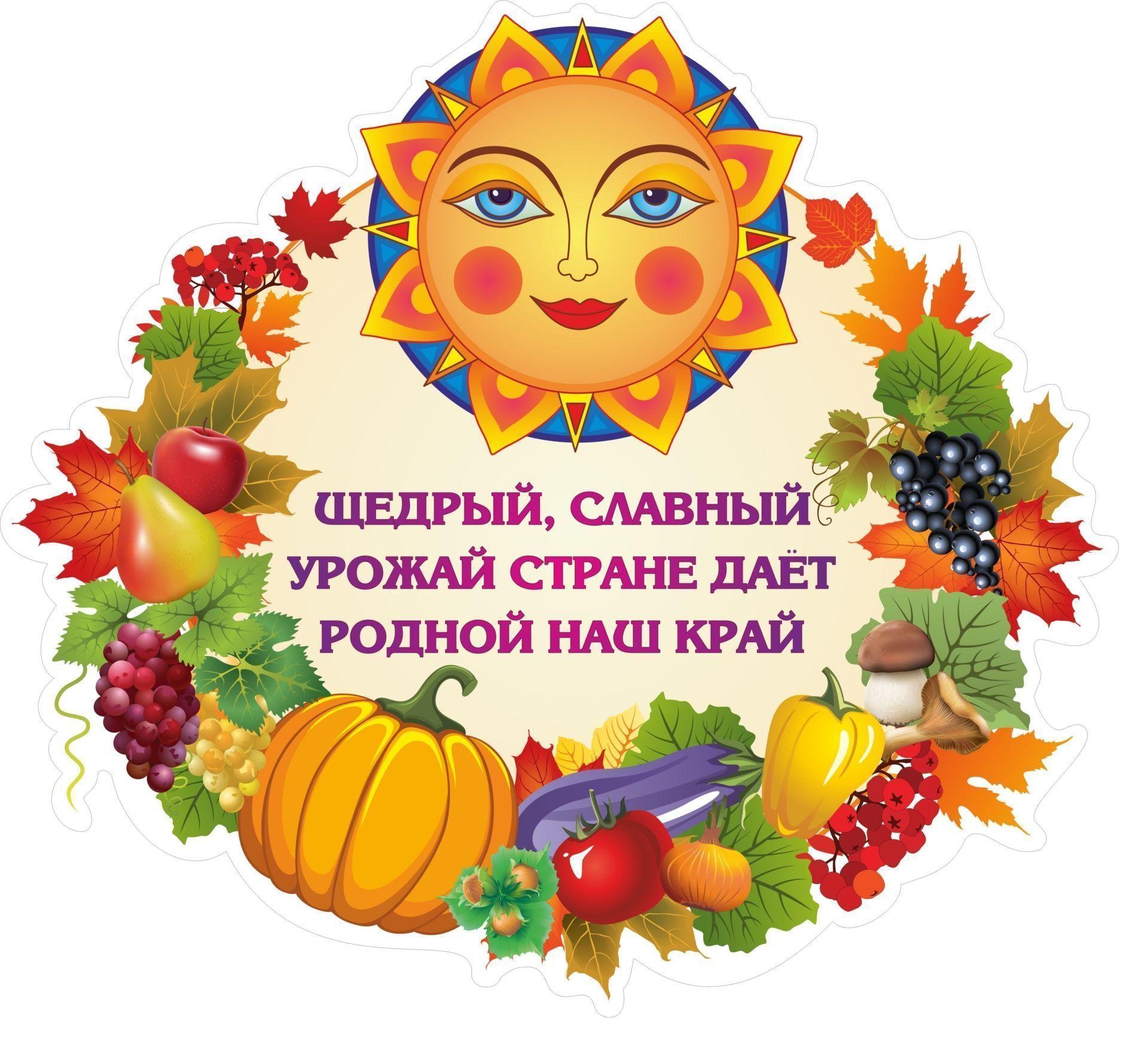 Плакат вырубной Осенний урожай: 350х383 ммВырубные фигуры<br>.<br><br>Год: 2017<br>Серия: Вырубные фигуры для оформления<br>Высота: 383<br>Ширина: 350<br>Переплёт: набор