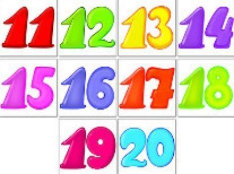 Набор наклеек Цифры. От 11 до 20Обучение и развитие<br>В наборе Цифры 10 наклеек от 11 до 20.<br><br>Год: 2015<br>Высота: 95<br>Ширина: 95<br>Толщина: 3