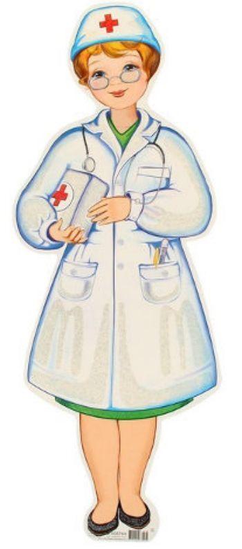 Плакат вырубной ДокторВырубные фигуры<br>Материал: картон.<br><br>Год: 2017<br>Высота: 510<br>Ширина: 195<br>Толщина: 1