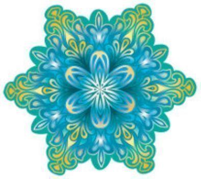 Новогоднее украшение СнежинкаГирлянды, мишура, дождик<br>.<br><br>Год: 2015<br>Высота: 75<br>Ширина: 75<br>Толщина: 1