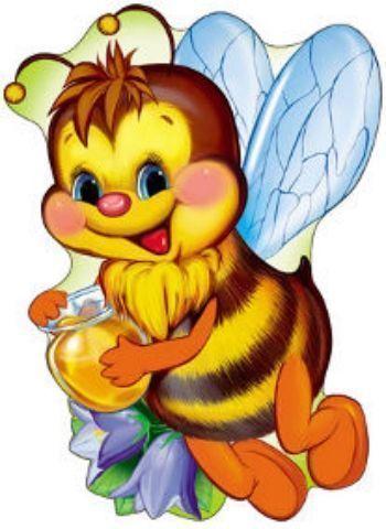 Плакат вырубной ПчелкаВырубные фигуры<br>.<br><br>Год: 2018<br>Высота: 500<br>Ширина: 350<br>Толщина: 1