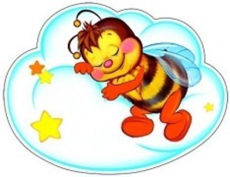 Плакат вырубной Пчелка на облачкеВырубные фигуры<br>.<br><br>Год: 2017<br>Высота: 300<br>Ширина: 220<br>Толщина: 1