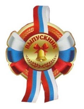 Медаль ВыпускникМедали<br>Медаль с лентой триколор и булавкой.Диаметр медали 95 мм.Материал: картон, полиэстер, металл.<br><br>Год: 2016<br>Высота: 160<br>Ширина: 95<br>Толщина: 1