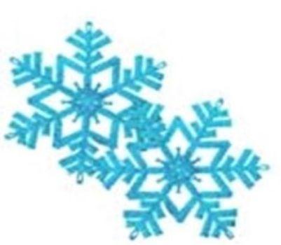 Набор пластиковых украшений СнежинкиГирлянды, мишура, дождик<br>В наборе 2 снежинки диаметром 16 см., цвет голубой.Состав: ПВХ.<br><br>Год: 2016<br>Высота: 180<br>Ширина: 160<br>Толщина: 3