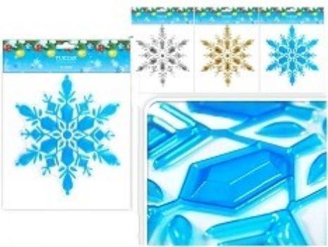 Новогодняя наклейка Снежинка, металлизированная, миксГирлянды, мишура, дождик<br>Наклейки помогут вам украсить свой дом к предстоящим праздникам. С помощью таких украшений вы сможете оживить интерьер по вашему вкусу: наклеить их на окно, на зеркала и даже на двери.Снежинки представлены в ассортименте. Выбор конкретных цветов и моделей...<br><br>Год: 2016<br>Высота: 210<br>Ширина: 180<br>Толщина: 2
