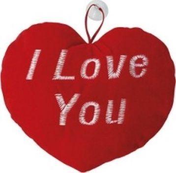 Сердце плюшевое I Love YouДень святого Валентина<br>Сердце плюшевое, на присоске. Материал внутри: синтепон.<br><br>Год: 2017<br>Высота: 170<br>Ширина: 200<br>Толщина: 60