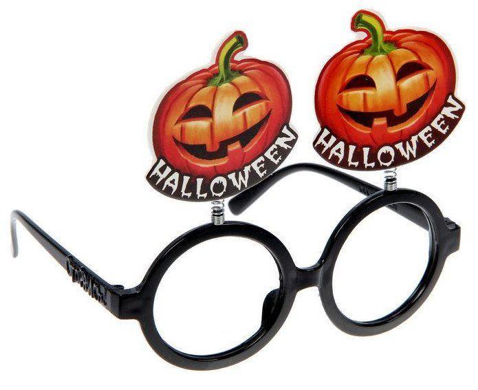 Очки на пружинках HalloweenКарнавальные костюмы, маски, парики<br>Материал: пластик.<br><br>Год: 2017<br>Высота: 135<br>Ширина: 140