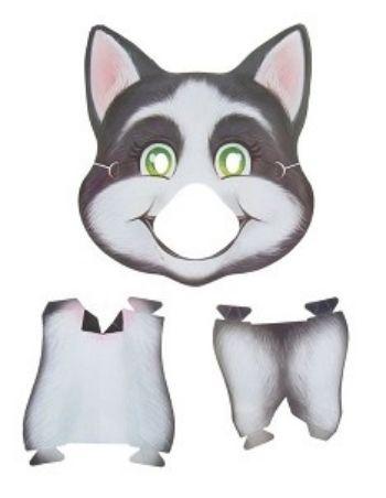 Маска объемная СобакаКарнавальные костюмы, маски, парики<br>Оригинальная красочная маска завершит ваш образ, поможет преобразиться и порадует ярким дизайном всех вокруг.Материал: картон.<br><br>Год: 2017<br>Высота: 260<br>Ширина: 225<br>Толщина: 1