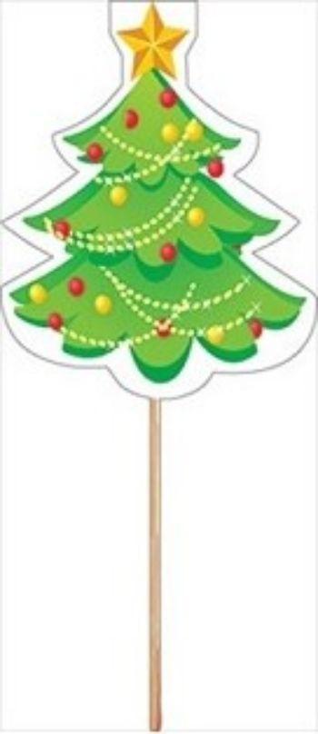 Топпер новогодний ЕлочкаНовогодние украшения<br>В наборе 3 штуки. Материал: бумага, дерево.<br><br>Год: 2017<br>Высота: 95<br>Ширина: 55<br>Толщина: 4