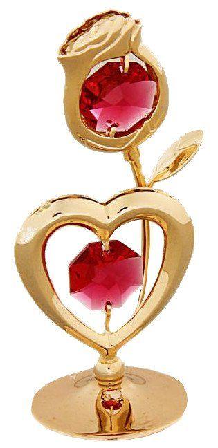 Сувенир Роза с сердцем с хрусталиками СваровскиШкатулки, копилки, статуэтки<br>Сувенирное сердце станет идеальным подарком близкому человеку и всем любителям эксклюзивных вещей ручной работы. Символ сердца связан с образом взаимной любви. Именно поэтому такой подарок можно подарить, чтобы выразить свои чувства любимому человеку.Суве...<br><br>Год: 2016