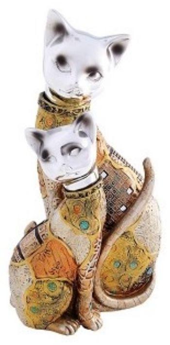 Сувенир Две кошки. МозаикаШкатулки, копилки, статуэтки<br>Статуэтка кошки - не только элегантный сувенир, но и предмет, который может стать настоящим талисманом. Изящная, грациозная кошка считается носителем особой силы, способной нейтрализовать отрицательную энергию, помочь своему хозяину справиться даже с самы...<br><br>Год: 2017<br>Высота: 300<br>Ширина: 160<br>Толщина: 120
