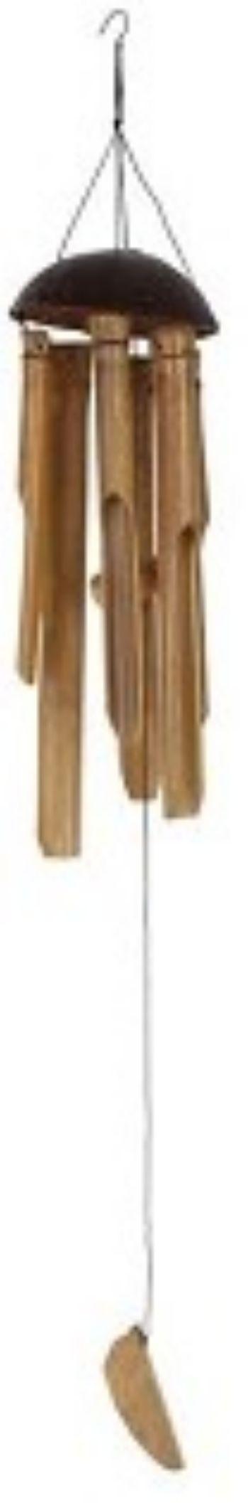 Музыка ветра КокосАксессуары и сувениры<br>Материал: бамбук.<br><br>Год: 2017<br>Высота: 350<br>Ширина: 100<br>Толщина: 100