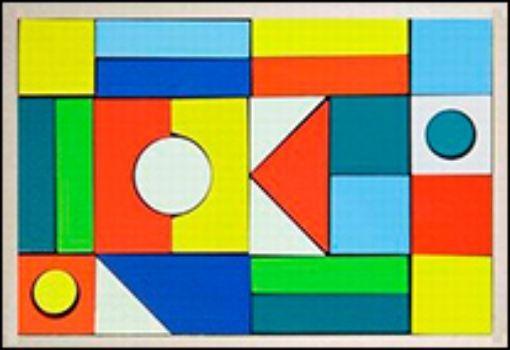 Конструктор деревянный окрашенный Городок, 26 деталей. Для детей 2-3 летЛабиринты, головоломки, конструкторы<br>Конструктор состоит из множества деревянных деталей разных цветов и форм, позволяющих крохе создать свой собственный мир. Пусть сначала игры будут совсем простыми, но со временем малютка сможет выстроить целый деревянный город, в котором будут жить его лю...<br><br>Год: 2011<br>Высота: 185<br>Ширина: 265<br>Толщина: 40
